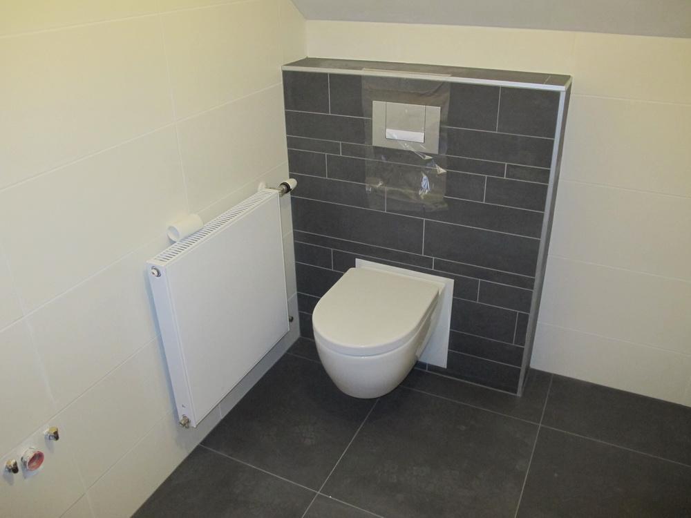 Radiator Voor Toilet : Badkamer toilet project