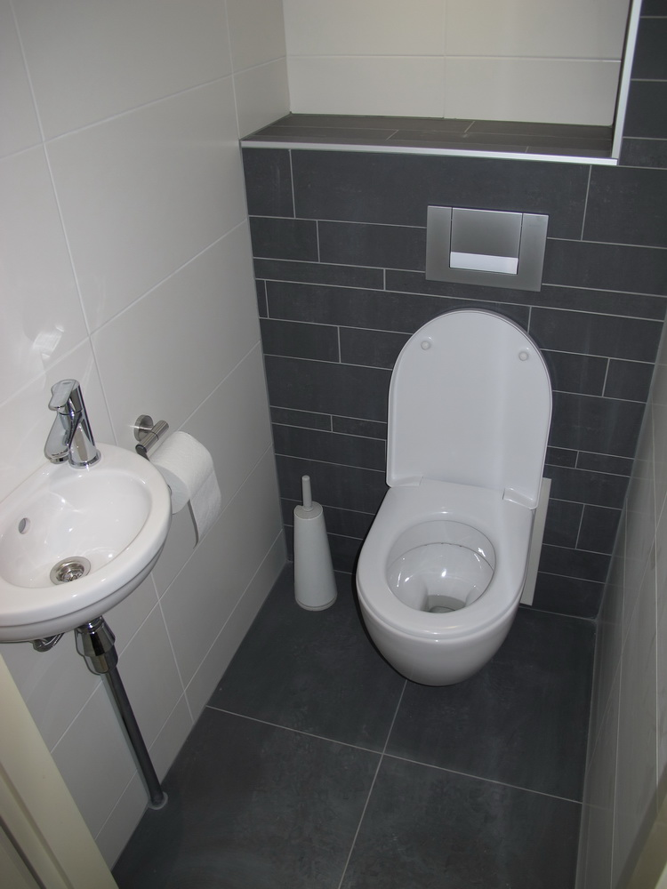 Badkamer/toilet project